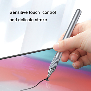 Baseus 2 In 1 Universalus Touch Stylus Pen Capacitive Touch Ekrano Rašiklis su